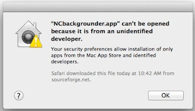 Gatekeeper may prevent some applications to install