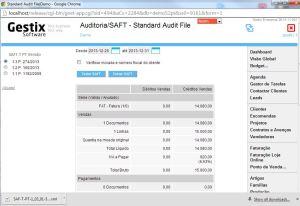 Extração do SAF-T para efeitos de teste do regime de IVA em Obras de Arte