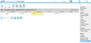 Gestix entrada de stock importaçao via CSV