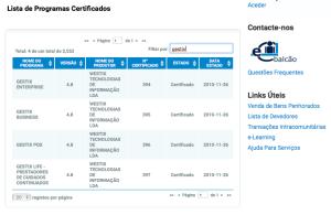 Estado da Certificação